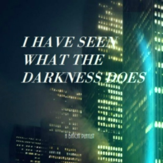 I HAVE SEEN WHAT THE DARKNESS DOES | a batcat playlist