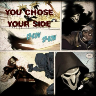 YOU CHOSE YOUR SIDE