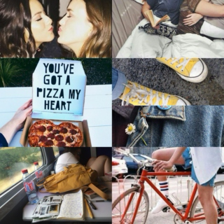 You've got a pizza my heart // Skimmons
