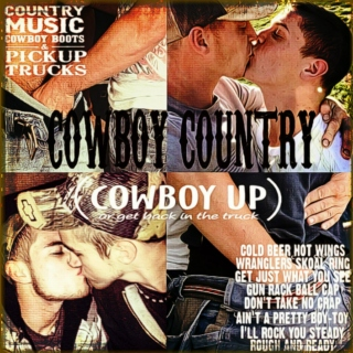 Cowboy Country (cowboy up or get back in the truck)