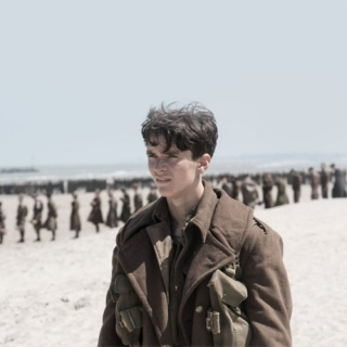 on the beaches of dunkirk