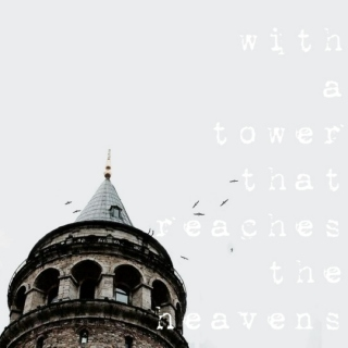 and a tower that reaches the heavens