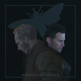 Magic Monster Men - Regis and Dettlaff