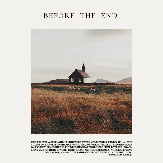 before the end