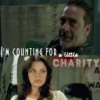 I'm counting for a little charity