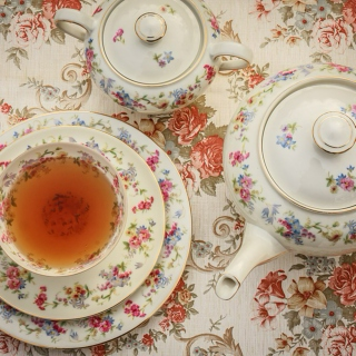 A Regency Tea Setting