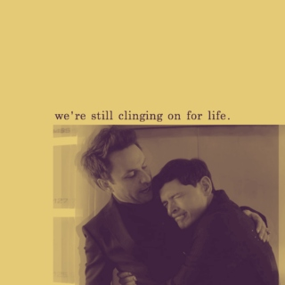 we're still clinging on for life.