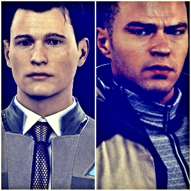 Caught in the Crossfire [Markus/Connor]