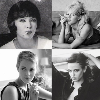 French Actresses Smoking Playlist