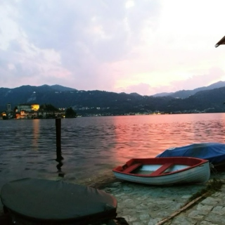 Quiet night at Orta lake
