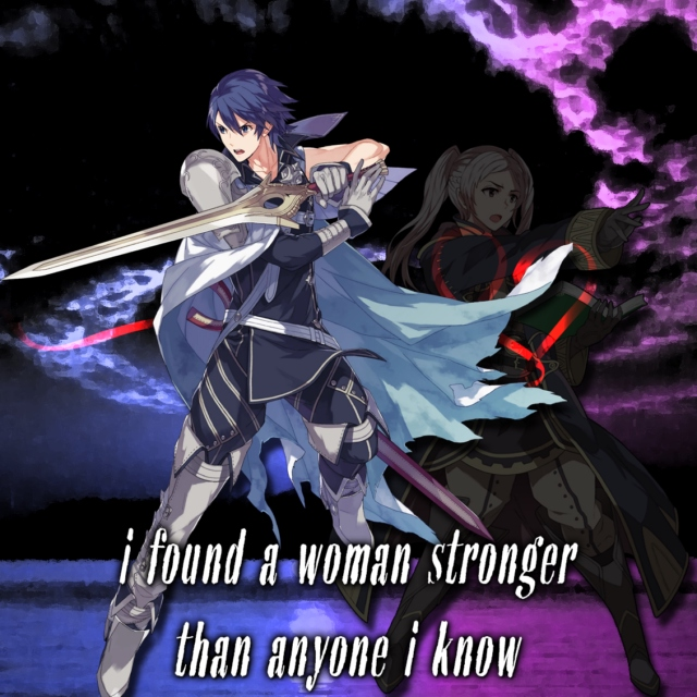 i found a woman stronger than anyone i know