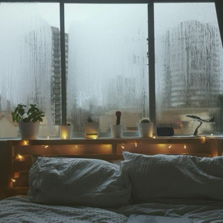 // who cares if we are under thunder showers // a rainy day playlist