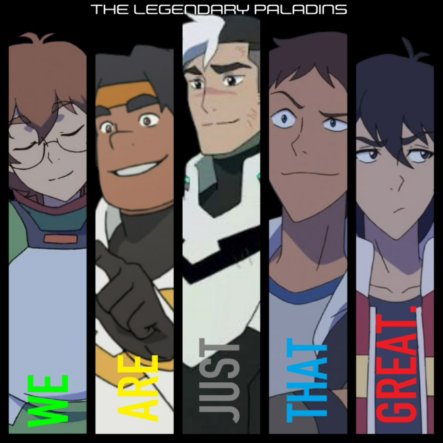 The Legendary Paladins - WE ARE JUST THAT GREAT.