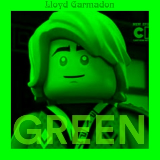 Lloyd Garmadon - GREEN