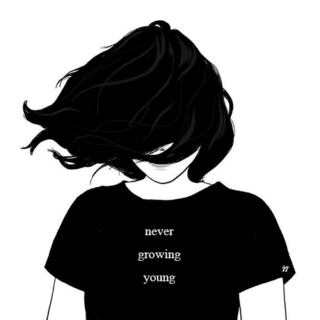 never growing young