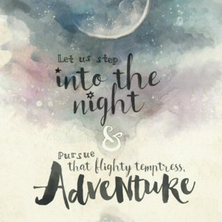 Pursue That Flighty Temptress, Adventure
