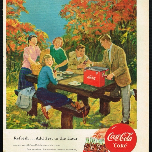 Autumn in the 50s