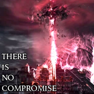 there is no compromise.