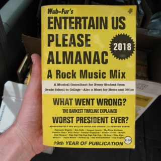 Entertain Us Please Almanac 2018