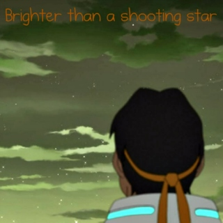 Brighter than a shooting star
