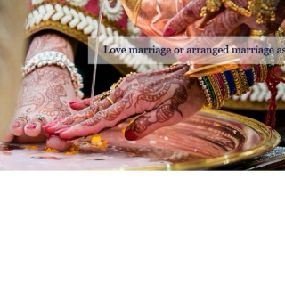 Love marriage or arranged marriage astrology