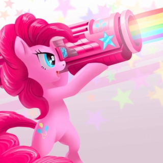 ain't no party like a pinkie pie party!