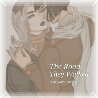 The road they walked