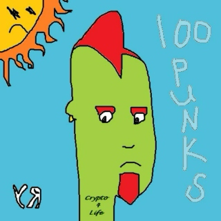 """100 Punks"" Playlist by Richard F. Yates"