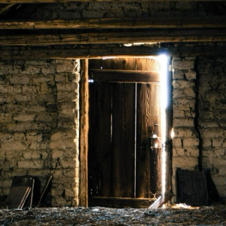 *Through a crack of light I was unable to find my way