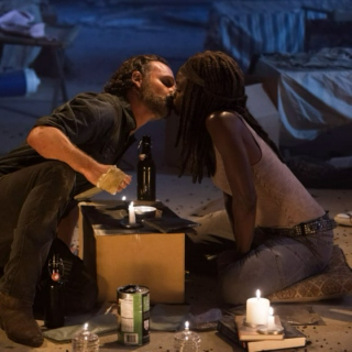 the sun will set for you (rick x michonne)