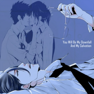 Ginoza + Kougami - You Will Be My Downfall And My Salvation