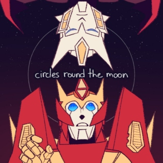 circles round the moon