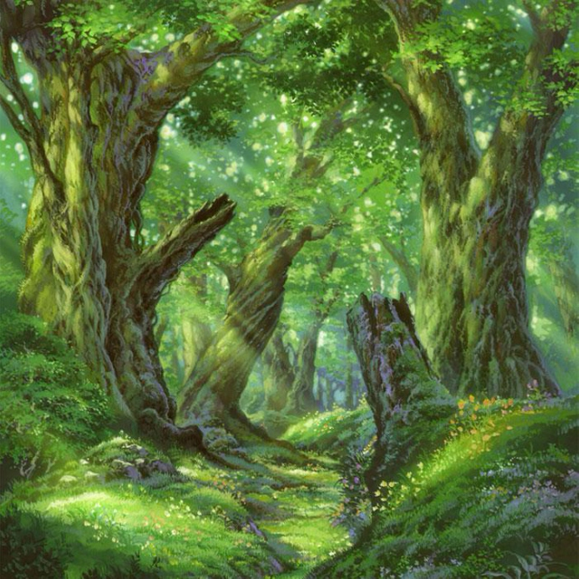 Magical Happy Forest