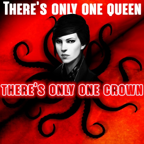 There's only one queen & there's only one crown