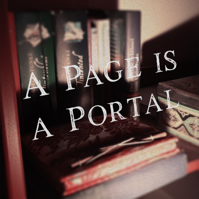 A page is a portal